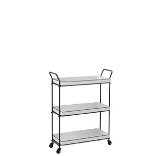 Arline Serving Cart By August Grove