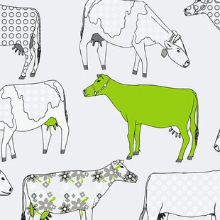 Cow Print Wallpaper Wayfair Ca