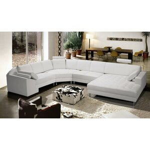 Vacaville Sectional  sc 1 st  AllModern : sofa leather sectional - Sectionals, Sofas & Couches