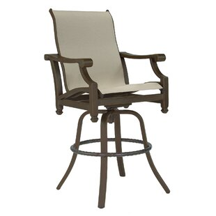 Grand Regent Sling Swivel Patio Bar Stool
