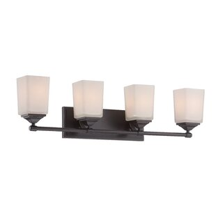 Affordable Corbin 4-Light Vanity Light By Designers Fountain