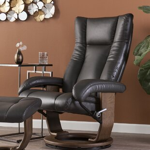 Great Price Manual Swivel Recliner with Ottoman by Brayden Studio Reviews (2019) & Buyer's Guide