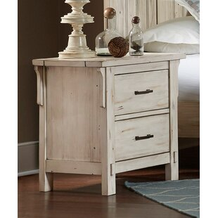 Dowell 2 Drawer Nightstand by Millwood Pines