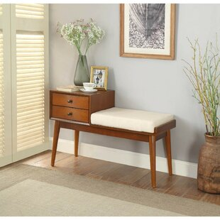Faribault Upholstered Storage Bench by George Oliver
