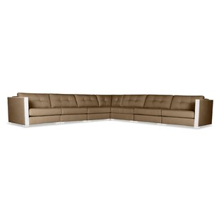 Steffi Buttoned Right and Left Arms L-Shape Modular Sectional
