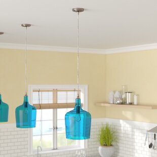 Beachcrest Home Woodcreek 1-Light Novelty Pendant
