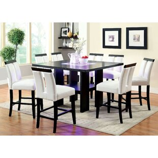 Kristina 9 Piece Pub Table Set..