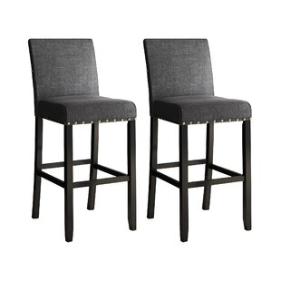 Cool Haysi Bar Counter Stool Set Of 2 Machost Co Dining Chair Design Ideas Machostcouk