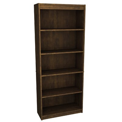 Alves Standard Bookcase Bookcase Color: Chocolate by Mercury Row