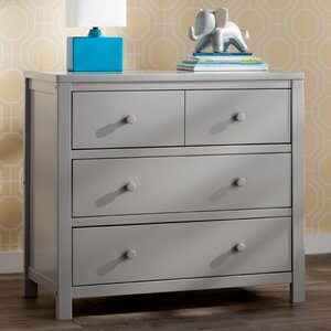 Louisa 3 Drawer Dresser by Delta