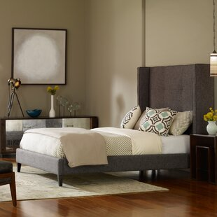Purchase Columbus Upholstered Platform Bed by Design Tree Home Reviews (2019) & Buyer's Guide