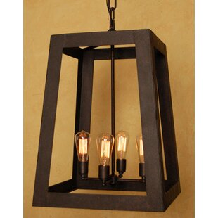 Robertson 4-Light Outdoor Pendant By Laura Lee Designs