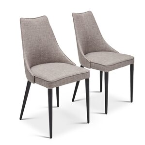 Saramarie Upholstered Dining Chair (Set of 2) by Orren Ellis