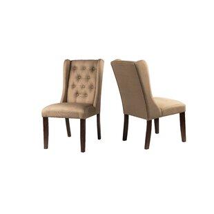 Gorski Upholstered Dining Chair (Set of 2..