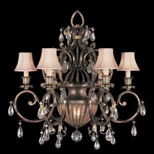 Fine Art Lamps A Midsummer Nights Dream 7-Light Shaded Chandelier