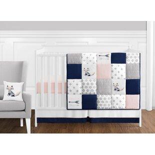 Affordable Fox Patch 11 Piece Crib Bedding Set BySweet Jojo Designs