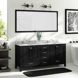 Hamden 71 inch  Double Bathroom Vanity Set with Mirror
