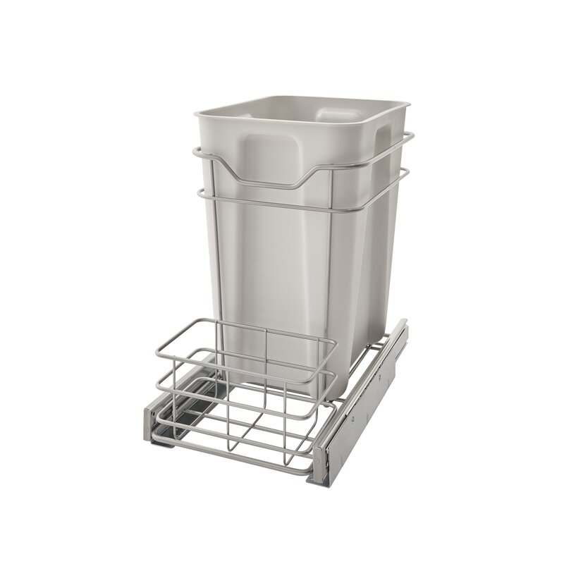 Cabinet Pull Out Counter Trash Can
