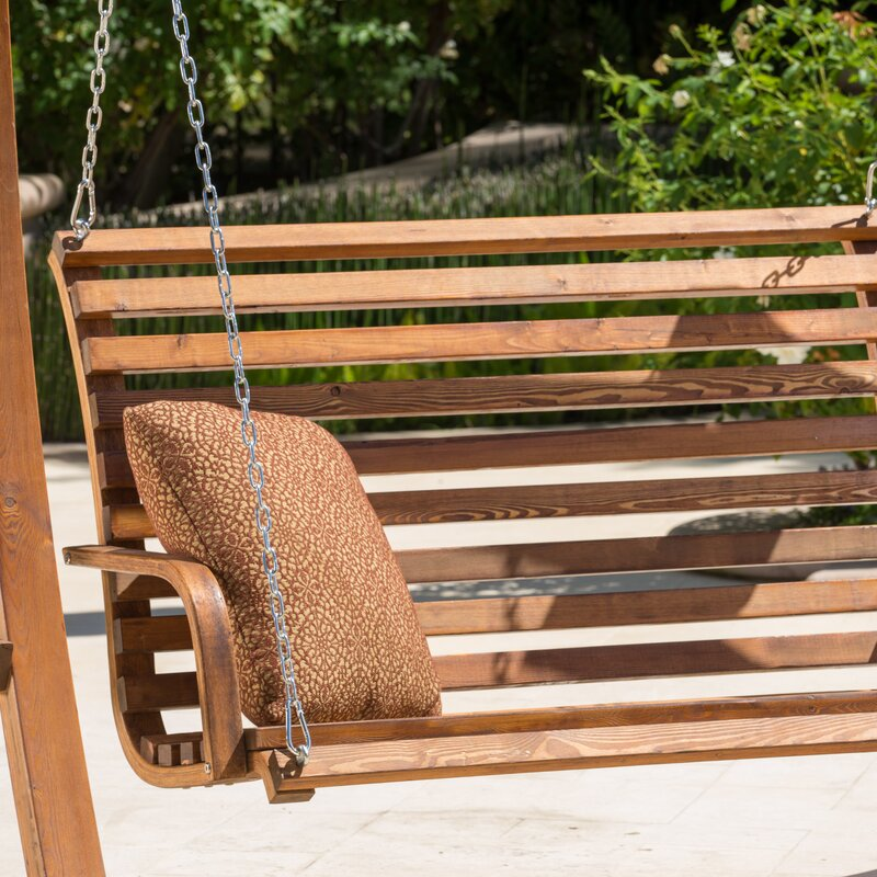 Superior Bench Swing Part - 7: Bracciano Porch Swing With Stand