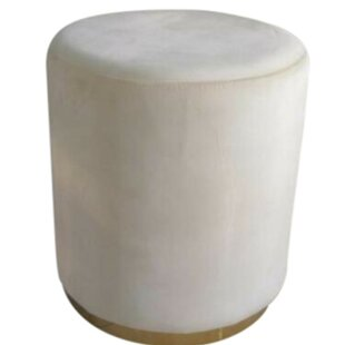 Salome Velvet Upholstered Accent Stool by Mercer41