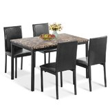 Benld 5 - Piece Dining Set by Red Barrel Studio®