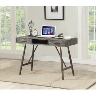 Union Rustic Timko 2 Drawer Writing Desk