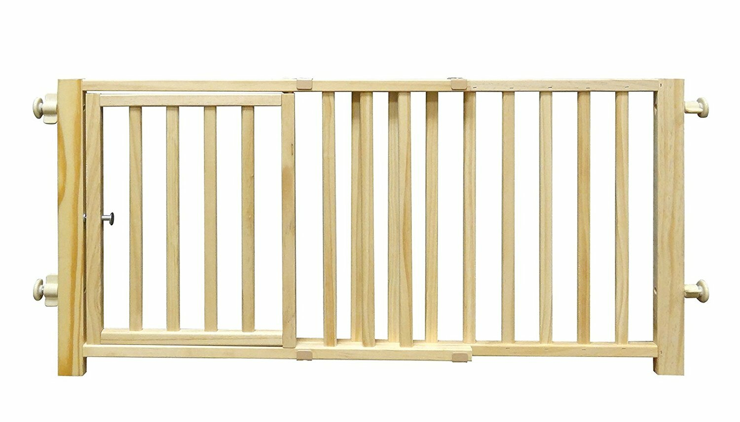 Four Paws Walk Over Pet Gate with Door & Reviews | Wayfair