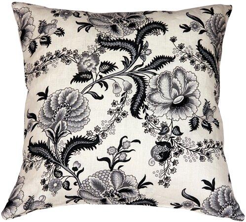Red Barrel Studio Chidley Floral Print Linen Throw Pillow Wayfair Ca