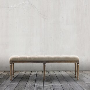 French Louis Wood Bench by Curations Limited