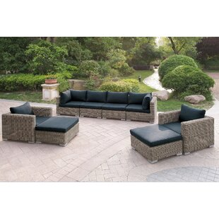 Harvey 8 Piece Patio Sofa Set I with Cushions by A&J Homes Studio
