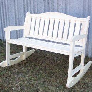 Garden Rocker Bench Prairie Leisure Design