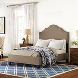 Galesburg Queen Upholstered Panel Bed by Three Posts™