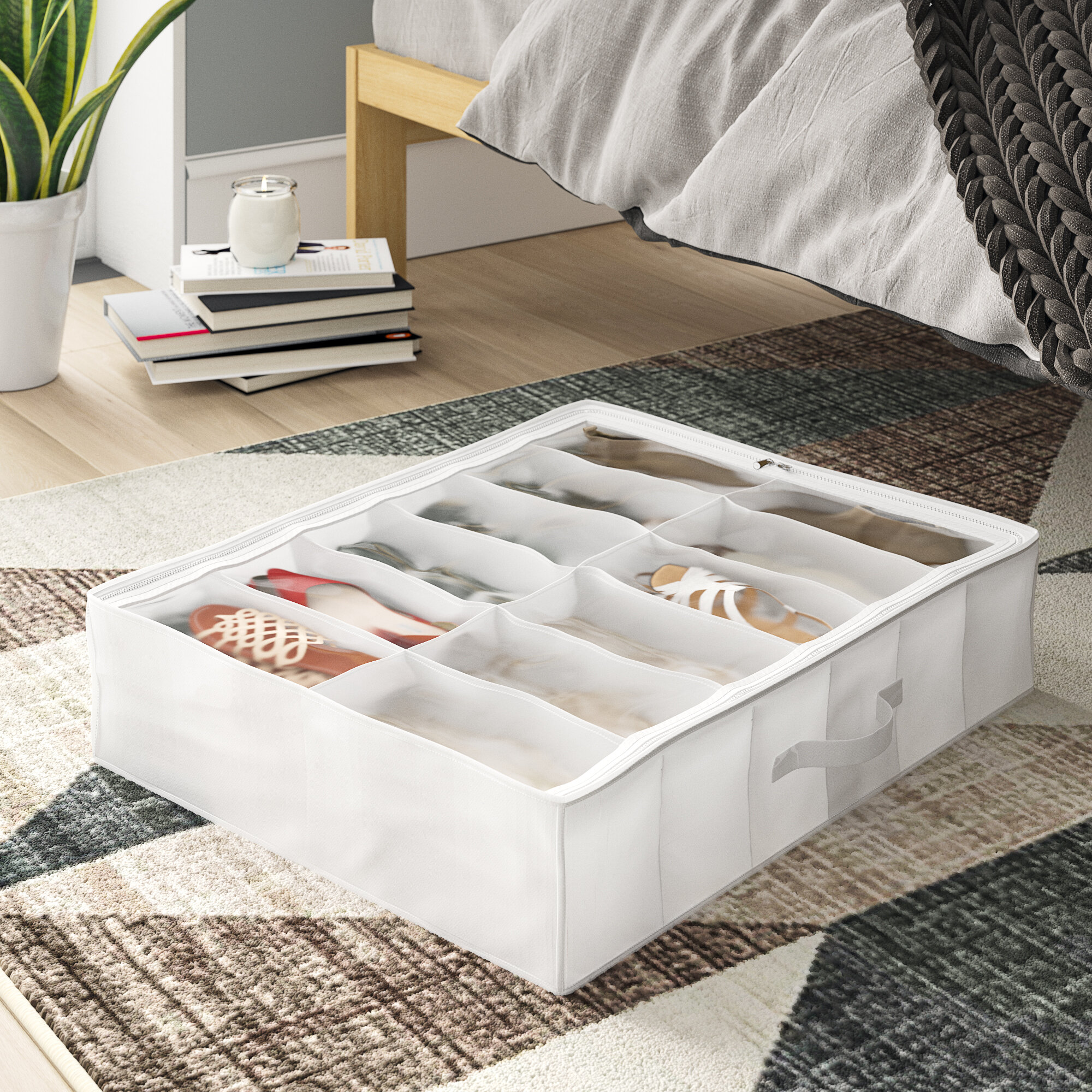 Project Tidy Fabric Underbed Storage