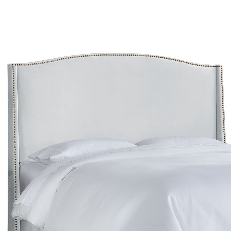 Doleman Contemporary Upholstered Wingback Headboard