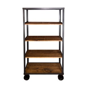 Jambusaria Vintage Factory Cart Shelf Sto..