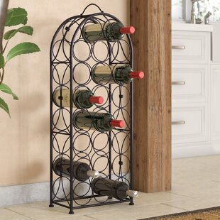 Brussels 23 Bottle Floor Wine Bottle Rack..