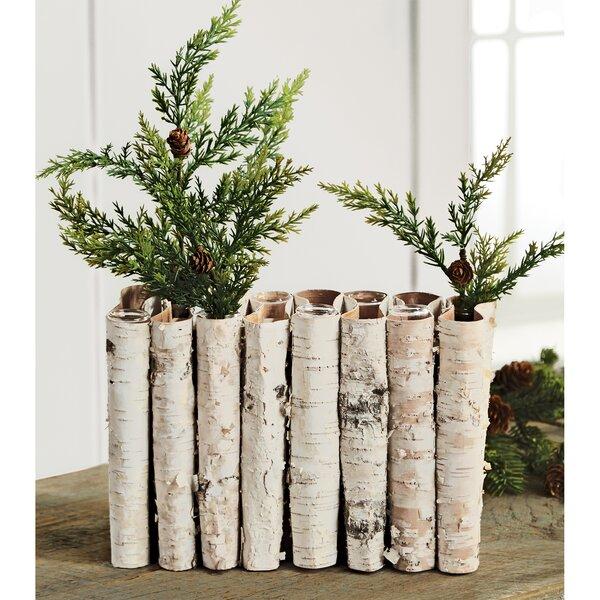 Birch Bark Vase Wayfair