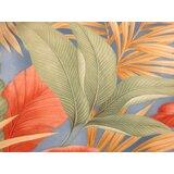 Rainey 27 Rectangle Floral Standard Ottoman by Bayou Breeze