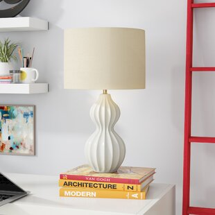 Ribbed Gourd 26 Table Lamp
