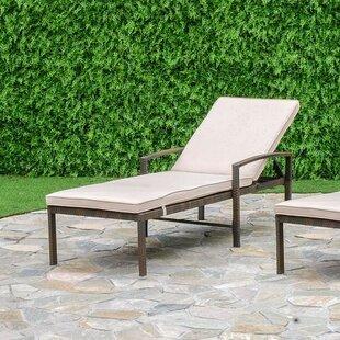 Laurel Foundry Modern Farmhouse Audette Chaise Lounge Set with Cushion (Set of 2)