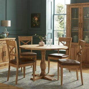 Timberlane Dining Set With 4 Chairs By Union Rustic