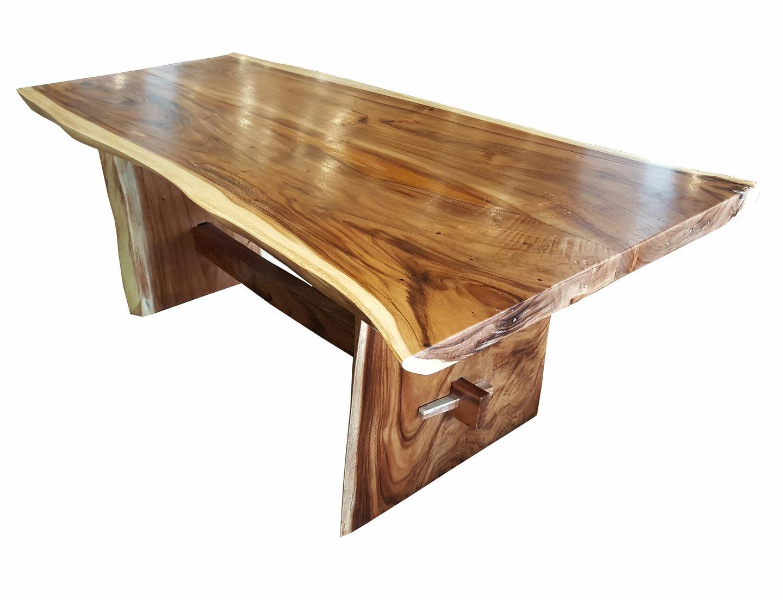 Efren Live Edge Unique Slab Dining Table