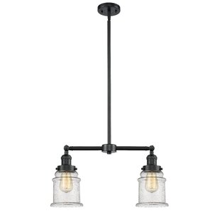 Greeley 2-Light Kitchen Island Pendant by Laurel Foundry Modern Farmhouse