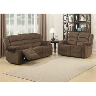 AC Pacific Bill Reclining 2 Piece Living Room Set