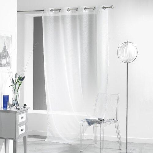 Gardine Lissea mit Ösen (1 Stück) | Heimtextilien > Gardinen und Vorhänge | Weiß | dCor design