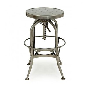 Design Lab MN Adjustable Height Swivel Bar Stool