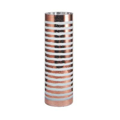 Mikasa Stripe Glass Cylinder Hurricane Wayfair