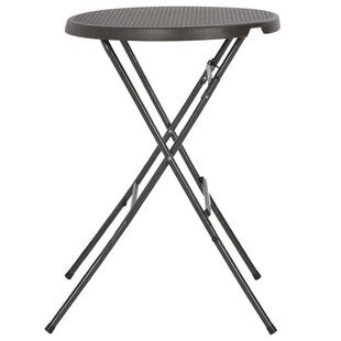 Southsea Folding Steel Bar Table By Sol 72 Outdoor