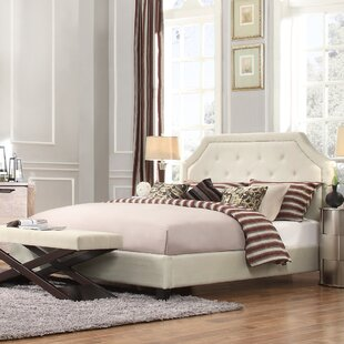 Somerby Upholstered Panel Bed by Three Posts