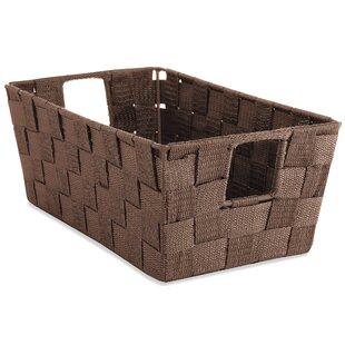 Save  sc 1 st  Wayfair & Whitmor Rattique Shelf Tote Storage Boxes Bins Baskets u0026 Buckets ...
